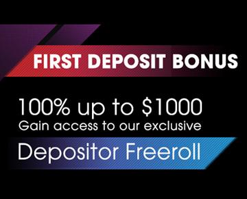 BlackChip Poker бонус за первый депозит